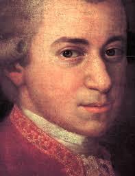 Mozart närbild