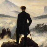 Caspar David Friedrich: Vandraren över dimhavet.